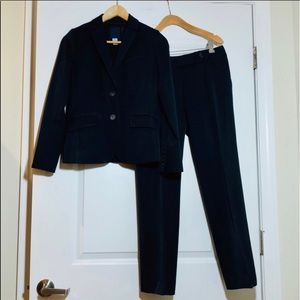 J. Crew Suit Blazer and Favorite Fit Pant in Navy